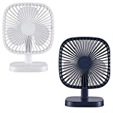 sagrach Plastic Mutable Touch Desktop Table Fans For Home Office Use, 1pc(Assorted Color)