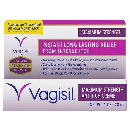 Vagisil Maximum Strength Medicated Anti-Itch Crème - 1 oz