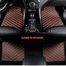 Homeve Alfombra de Coche para Mini Cooper R50 R52 R53 R56 R57 R58 F55 F56 F57 Countryman R60 F60 Accesorios para el Coche Que labran la Alfombra del Coche