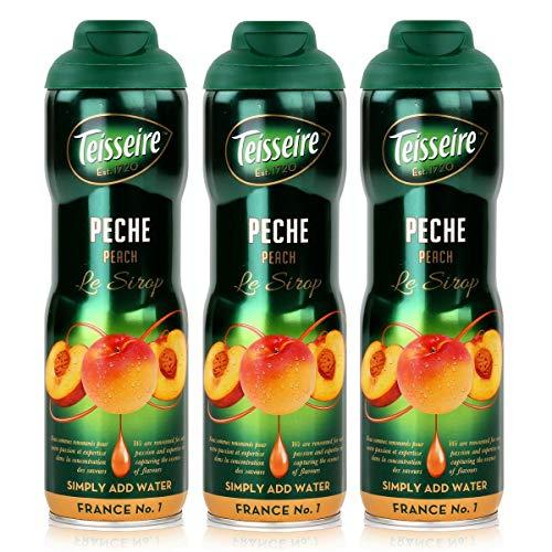 3 Sirup Pfirsich Teisseire - 3 x 0,6L