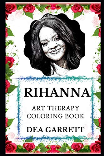 Rihanna Art Therapy Coloring Book