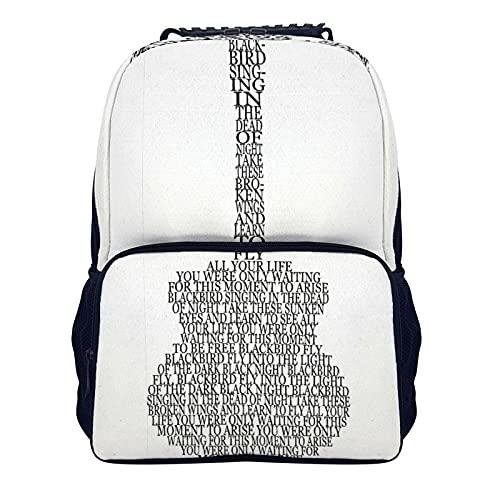 Mochila de hombro de 40 x 28 x 16 cm, mochila para ordenador portátil, mochila universitaria, mochila informal para portátil para mujeres/niñas/negocios/viajes