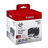 Canon PGI-1500BK/C/M/Y Cartuccia Inchiostro, Ciano/Magenta/Giallo/Nero
