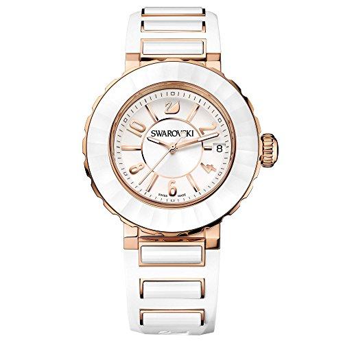 Reloj Swarovski Octea Sport color blanco chapado en oro rosa 5040555