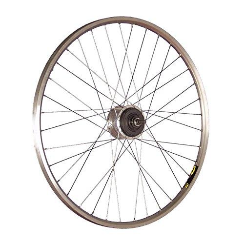 Taylor-Wheels 28 Zoll Hinterrad Laufrad A319 / ALFINE 11-Gang (Disc/V-Brake) - Silber