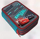ASTUCCIO TRIPLO CARS 18 pennarelli giotto + 18 pastelli colorì