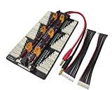 HobbyFly XT60 Lipo Battery Charger 2-8S Parallel Balanced Charging Board Charging Plate for Imax B6AC 720i Lithium Batteries Charger Part