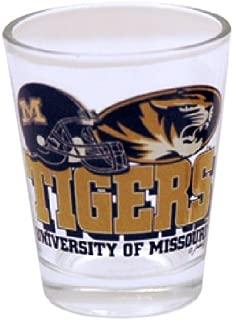 NCAA Missouri Tigers Helmet Shotglass