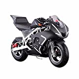 XtremepowerUS Outdoor Gas-Powered Mini Pock Bike Motorcycle Kids Adults 40cc...