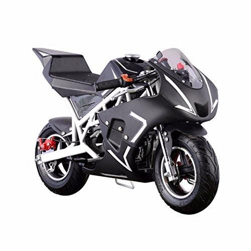 XtremepowerUS 40CC 4-Stroke Gas Power Mini Pocket Motorcycle Ride-on (Green)