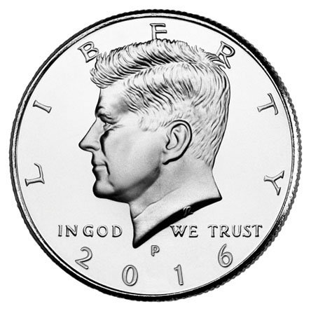 2016 P Bankroll of 20 – Kennedy Uncirculated