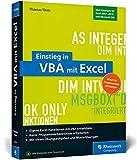 Einstieg in VBA mit Excel: Makro-Programmierung...