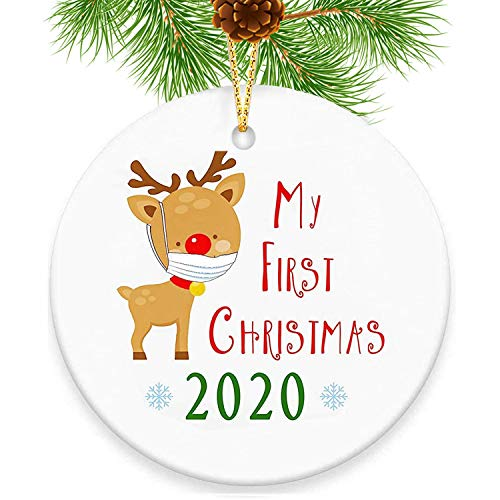 Price comparison product image 2020 Funny Christmas Ornament,  My First Christmas Ornament 2020 Tree Decorations