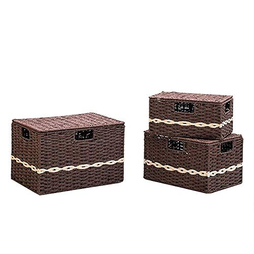 Aufbewahrungsbehälter Set, faltbare Aufbewahrungsbox Würfel mit Deckeln und Griffen Stoff Aufbewahrungskorb Bin Organizer Faltbare Schubladen Behälter für Kinderzimmer, Schrank, Schlafzimmer, Zuhause