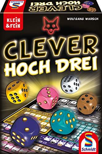 Schmidt Spiele Juego de Dados de la Serie Klein & Fein 49384