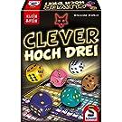Schmidt Spiele 49384 Clever hoch DREI, Würfelspiel aus der Serie Klein & Fein