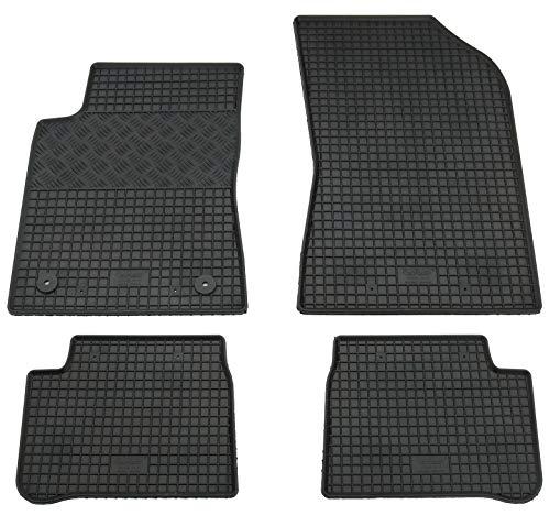 Pieds en caoutchouc tapis Kit pour C3 III à partir de 2017 de pieds en caoutchouc Tapis Tapis en caoutchouc
