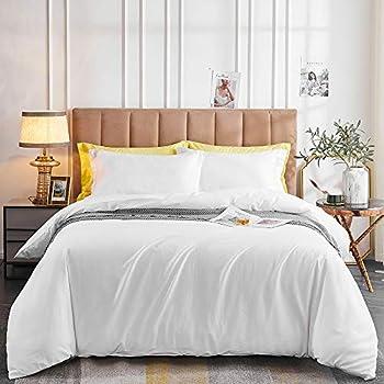 Oaite Duvet Cover Queen 3-Piece Bedding Set