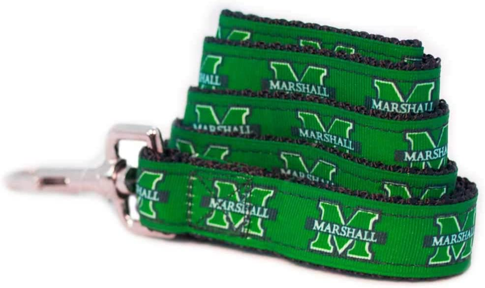 NCAA Genuine Free Shipping Marshall Thundering Herd Spring new work Dog Team Leash Large Color