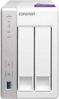 QNAP(キューナップ) TS-231P 専用OS QTS搭載 デュアルコア1.7GHz CPU 1GBメモリ 2ベイ ホーム&SOHO向け スナップショット機能対応 NAS 2年保証