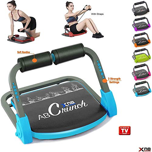 XN8 Bauchmuskeltrainer Abs Core| Fitness Coach Intelligente Maschine- Bauchtraining Geräte- Einstellbarer -Sit-Ups-Fitness-Traininshocker