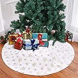 Falda para árbol de Navidad con diseño de árbol de Navidad,...