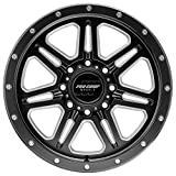 Pro Comp Wheels Apex Black Wheel with Painted (20 x 10. inches /8 x 6 inches, -18 inches Offset)