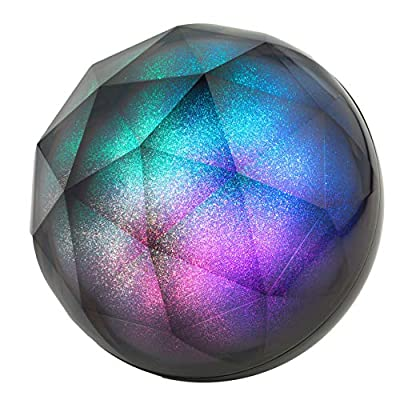 Intempo® EE3434GSTKEU Geode Glitter Ball Bluetooth Speaker | Galaxy Effect Colourful LED Lights | 5 W | Portable | Rechargeable from Intempo