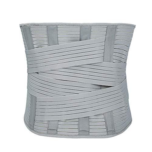 QHGao Cinturón Recortador De Cintura Envoltura para El Sudor De Cuerpo Delgado, Diseño Ergonómico Y Material Transpirable, con Almohadilla Lumbar para Un Alivio Completo del Dolor De Espalda,XXL