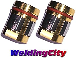 WeldingCity 2-pk Gas Diffuser 169-729 for Miller Millermatic M and Hobart H MIG Welding Guns