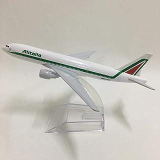 16Cmアリタリアボーイング777航空機モデル航空機モデル航空機航空機モデル1:400ダイキャストメタル航空機のおもちゃ