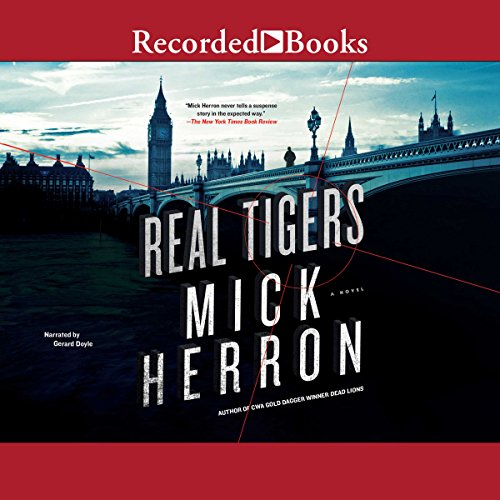 Real Tigers audiobook cover art