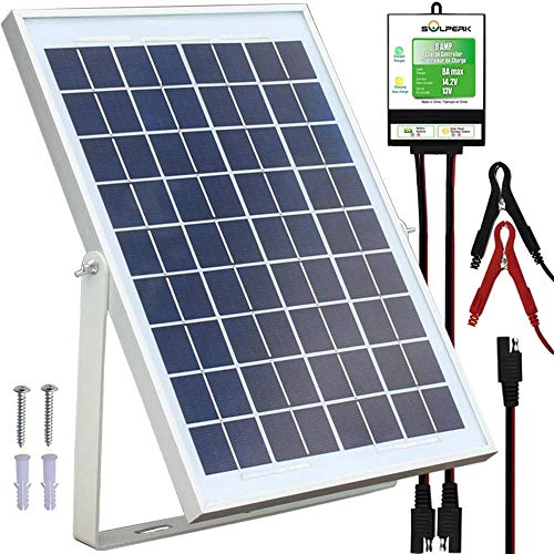 12 volt solar battery charger for campers