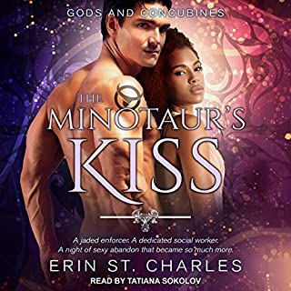 The Minotaur's Kiss audiobook cover art