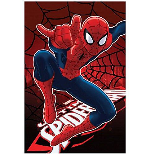 Fleecedecke Spiderman Marvel Web