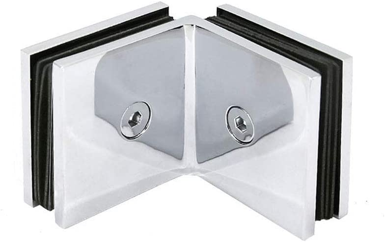 Square 90 Ranking TOP2 Degree Superlatite Wall Mount Shower Ch Door Clamp to Glass