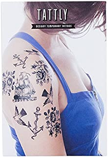 Tattly Temporary Tattoos Nautical Set