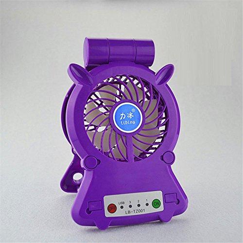 Mini ventilatore Ostelli dello studente per spostare la ventola dell'alimentazione del dispositivo di ricarica clip piccole ventole
