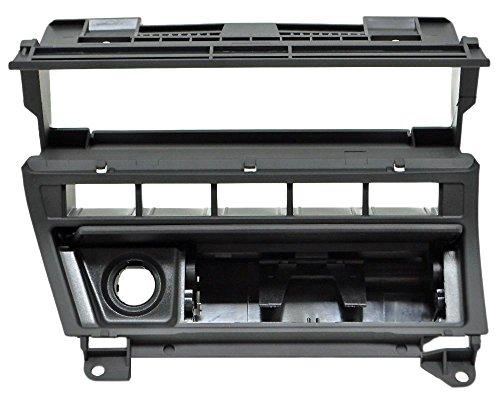 BMW E46 Funktionsträger - Ausführung: Einzeltaster mit Raucherpaket - Verlagerung von Klimabedienteil bzw. Heizungsbedienteil für 2DIN / Doppel DIN Umbau - Original BMW Ersatzteil