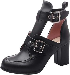BeiaMina Women Fashion Block Heel Pumps