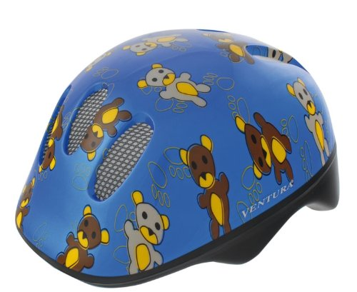 M-Wave Helm Baby Teddy, Blau, 48-52