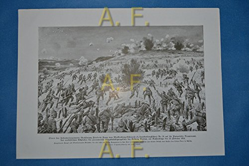 Sturm des Infanterieregiments Großherzog Friedrich Franz vom Mecklenburg-Schwerin (4. brandenburgisches) Nr. 24 auf die Panzerfeste Douaumont, den nordöstlichen Eckpfeiler der permanenten Hauptbef ...