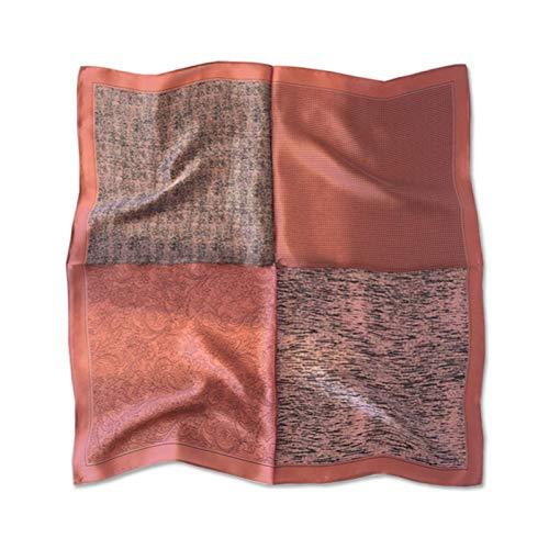 DREAMING-Vier Jahreszeiten Seidenschal 100% Maulbeerseide Hundert Seidenschal Quadratischer Schal Professionelle Schal Hals Schal Dekorative Kopftuch Geschenke