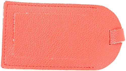 Stadlbauer Kunstleder Gepäck ID Tag (Hot Pink, Lila, Rot, Schwarz, Minze, Baby Pink) Rot rot