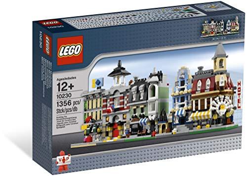 LEGO VIP 10230 Set mit Miniatur-Modulen, Miniversionen der ersten 5Modulbausätze (Café, Markt, Gemüseladen, Feuerwehrstation und Hotel)