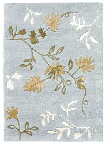Safavieh Soho Collection Handmade Light Blue Premium Wool Area Rug (2' x 3')