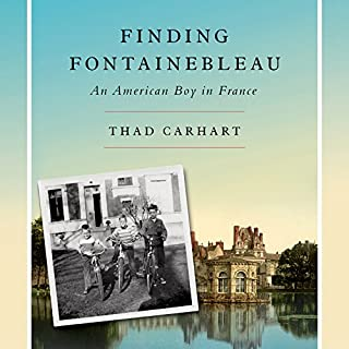 Finding Fontainebleau audiobook cover art
