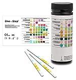 100 x Urine Test Strips for Infection Cystitis Testing Sticks, UTI, Nitrite, Leukocytes, 8 Parameter Urinalysis Multisticks