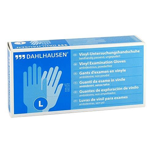 Vinyl Handschuhe ungepudert Gr��e L, 100 St