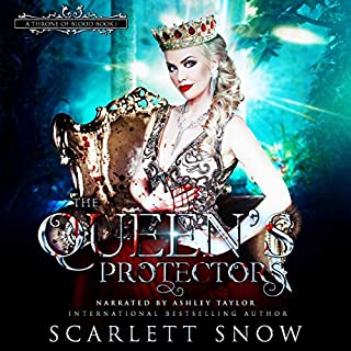 The Queen's Protectors      A Throne of Blood, Book 1              By:                                                                                                                                 Scarlett Snow                               Narrated by:                                                                                                                                 Ashley Taylor                      Length: 5 hrs and 37 mins     16 ratings     Overall 4.6